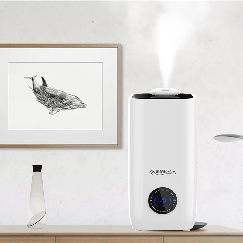 3L humidifier Household High capacity Aromatherapy machine office Mute bedroom air humidifier f370 3l humidifier household high capacity aromatherapy machine white