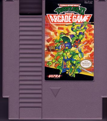 Teenage Mutant Ninja Turtles II – The Arcade Game card 72pin 8 bit Game cartridge Drop shipping!