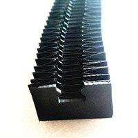 Cnc conjunto hgr30 hgr25 hgr20 hgr15 hgh20ca hgw 20cc 20mm 25mm guias lineares fole capas à prova de poeira para hiwin hgr ferroviário|Guias lineares| |  -