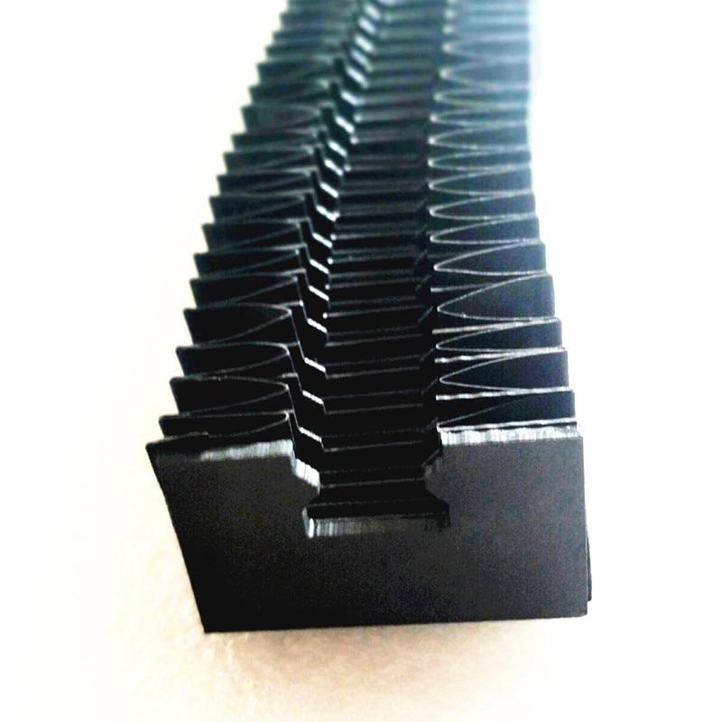 Cnc Set  HGR30 HGR25 HGR20 HGR15 Hgh20ca HGW 20cc 20mm 25mm Linear Guide Rails Bellows Dustproof Covers For Hiwin Hgr Rail