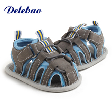 2017 New Design Five Colorful Styles Knitted Lace Hook & Loop Flat Heel Summer Baby Girl Sandals For (0-18) Months