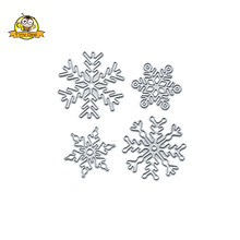 Merry Christmas Die Metal Cutting Dies Snowflake for Craft Scrapbooking Card Making DIY Photo Album Embossing Stencil