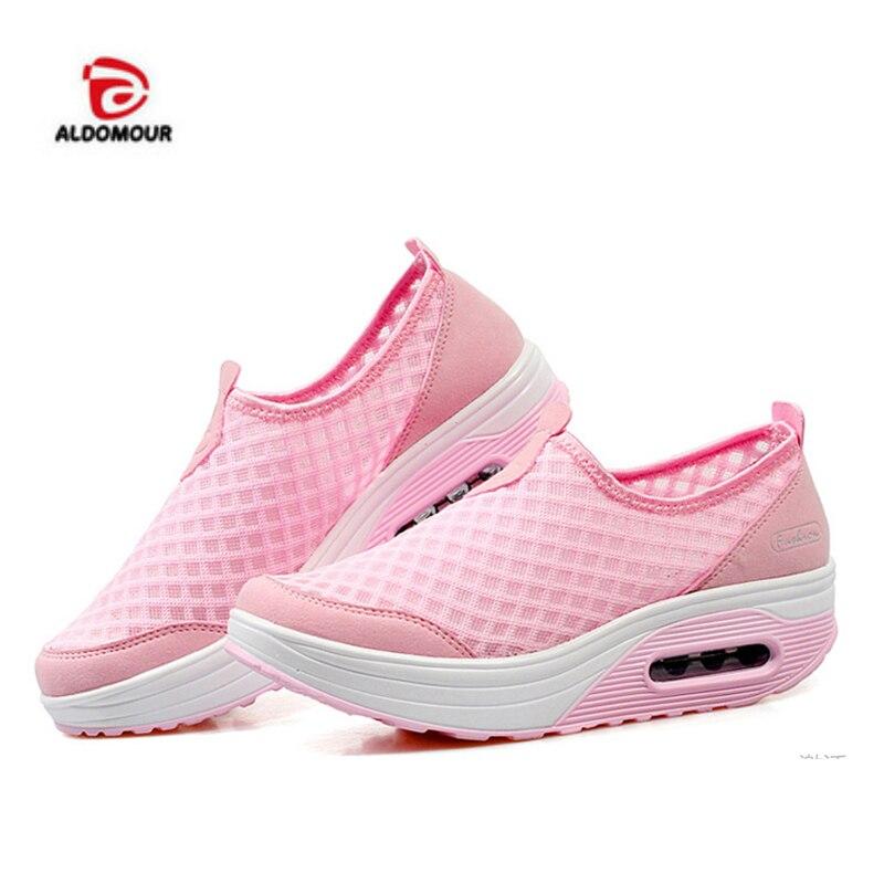 ALDOMOUR toning αθλητικά παπούτσια wedge αθλητικά παπούτσια γυναικών ... ea73e155cde
