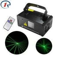ZjRight الأشعة تحت الحمراء عن بعد جهاز عرض ليزر أخضر مصباح DMX512 إضاءة مسرح احترافية نادي إضاءة زينة شريط حفلة KTV أضواء تأثير الليزر-في تأثير إضاءة المسرح من مصابيح وإضاءات على