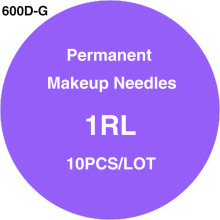600D-G Sterilized Disposable Tattoo & Permanent Makeup Rotary Tattoo Machine Needles 1RL 10pcs/lot