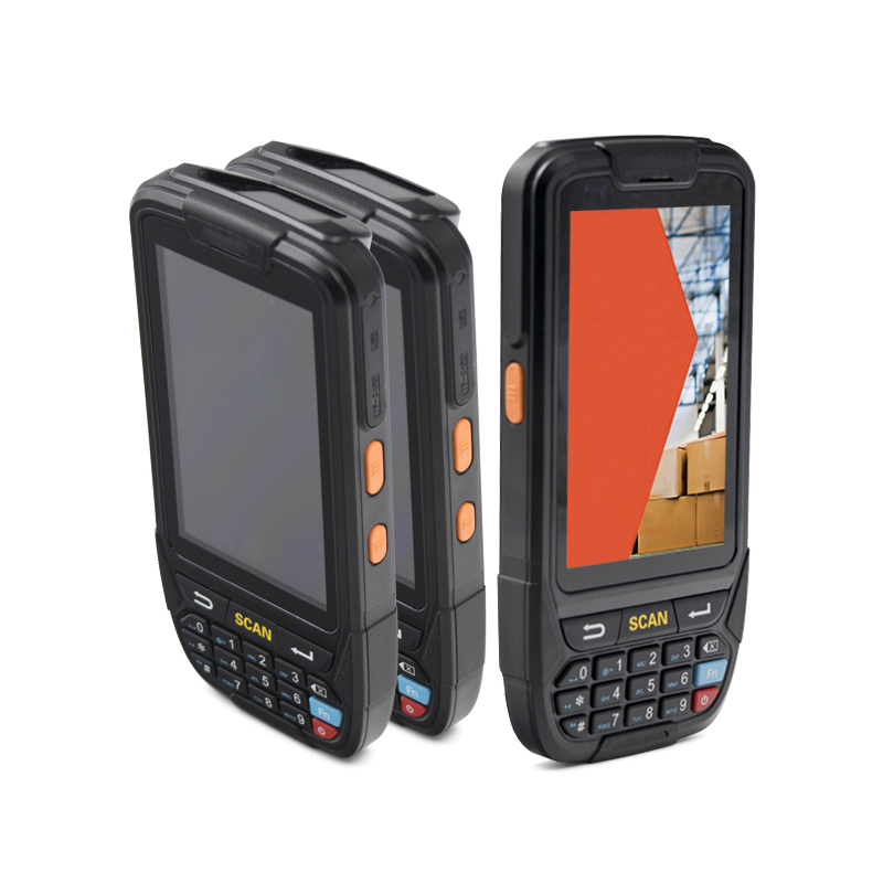 PDA android5.1 GPS + 4 г + WI-FI + Bluetooth4.0 + камера + 1D/2D сканер штрих-кода сбора данных