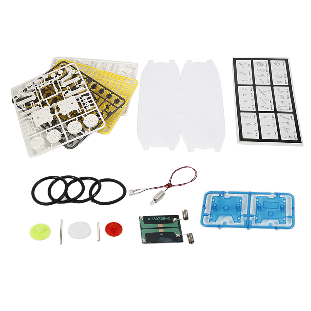 New Innovative 14-in-1 Solar Robot Kit Educational Solar Power Robot DIY Toy Assembled Toys For Kids Car Boat Animal DIY Robot solar power cute wheel paddle boat model 2 green energy intelligent diy toy