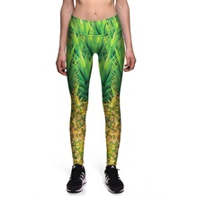 Fitness Leggings High Quality Fashion Leggings Fitness Pants High waist Digital printing leggins Drop ship