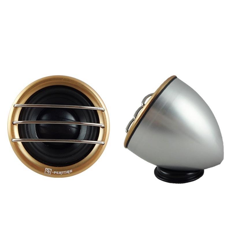 Som Automotivo 100W Super Silk Dome Midrange Speakers Car Power Loud Dome Horn Midrange Car Speaker For Car High Quality Metal