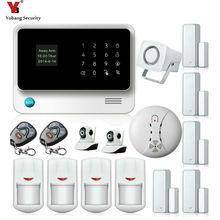 Yobang Security WIFI APP Control Alarmas De Seguridad Para Casa Surveillance Camera Wireless Home House Security Intruder Alarm