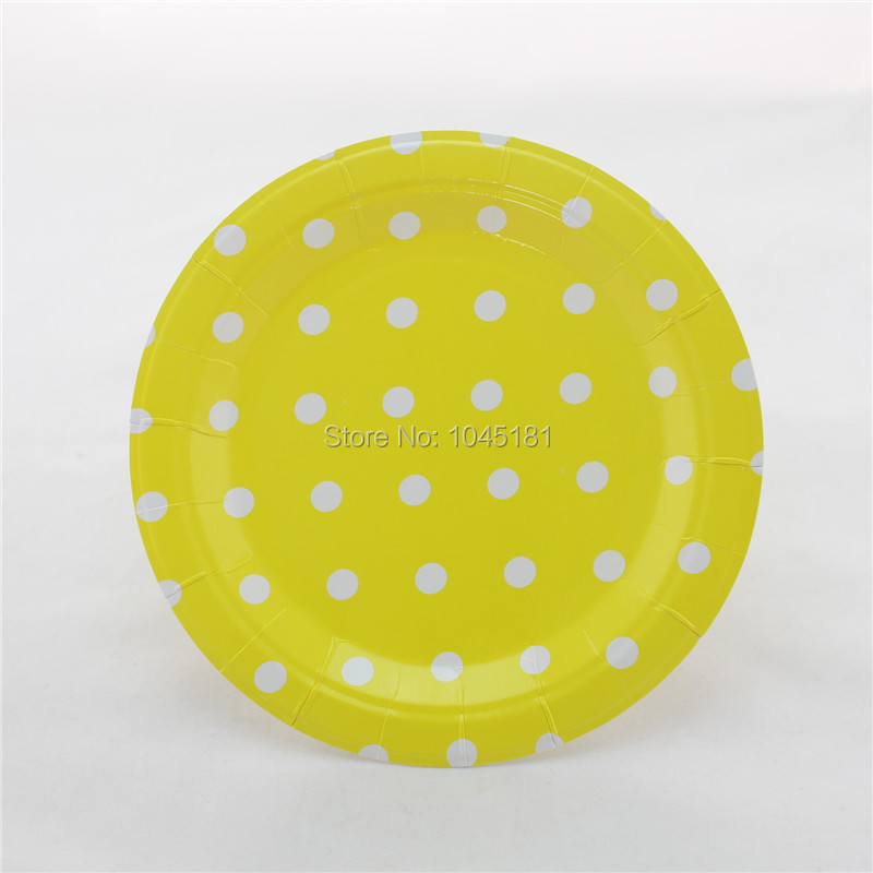 Aliexpress.com  Buy ipalmay Free Shipping Party Suppliers 9 inch White Polka Dot Paper Plates of Biodegradable Blue Round paper plates from Reliable plate ... & Aliexpress.com : Buy ipalmay Free Shipping Party Suppliers 9 inch ...