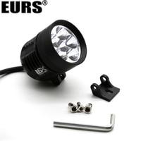 EURS Motorcycle headlights l4X L6X led spotlight 7000k spot head lights bulb 40W 60W 6500K highlight a waterproof scooter