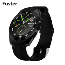 Fuster 380mah Battery Capacity G5 Bluetooth Sport Smart Watch with Heart Rate Monitor Round HD Display Waterproof Smartwatch