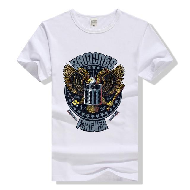 f700651ef17274 Rock Band T-shirt The Ramones T Shirt Men Women Unisex Clothing Top Rock N  Roll Tee Punk Tshirt Apparel