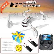 Free shipping!  X4 H502S 5.8G FPV GPS 720P Camera RC Quadcopter  with Original Battery with  Blades