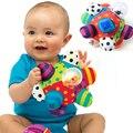 Do bebê do Divertimento Pumpy Bola de Pelúcia Bonito Pano Macio Mão Chocalhos Sino Anel de treinamento Grasping Toy Capacidade Do Bebê Das Meninas Dos Meninos Brinquedos Caçoa o Presente