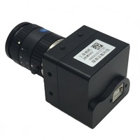 3MP HD CMOS Color USB2.0 Industrial Vision Camera with Frame Buffer SDK and Measuring Software for Microscope