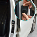 Car styling 4pcs/Lot Car Stainless steel Door Lock Buckle Protective Cover for BMW 1 2 3 4 5 6 7 M-series X1 X3 X4 X5 X6