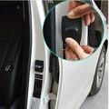 Carro styling 4 pçs/lote Carro de aço Inoxidável Fivela Fechadura Da Porta Capa Protetora para BMW 1 2 3 4 5 6 7 M-série X1 X3 X4 X5 X6