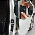 Coche que labra 4 unids/lote Cubierta Protectora Hebilla de la Cerradura de la Puerta de acero Inoxidable Del Coche para BMW 1 2 3 4 5 6 7 M de serie X3 X1 X4 X5 X6
