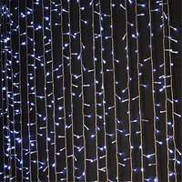 3M 300 LED Curtain light outdoor waterproof fairy lights Garlands Strip Party lamps for Holiday Christmas Wedding Decoration