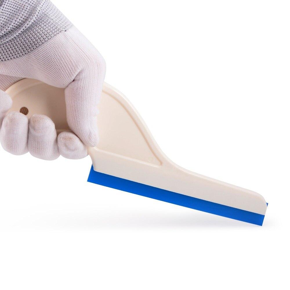 EHDIS 100pcs Rubber Water Wiper Multi Tools Car Cleaner Vinyl Film Wrap Squeegee Window Scraper Household Car Cleaning Tools