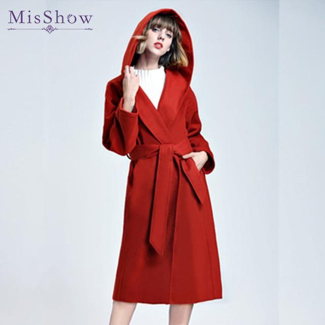 Manteau rouge hiver 2018