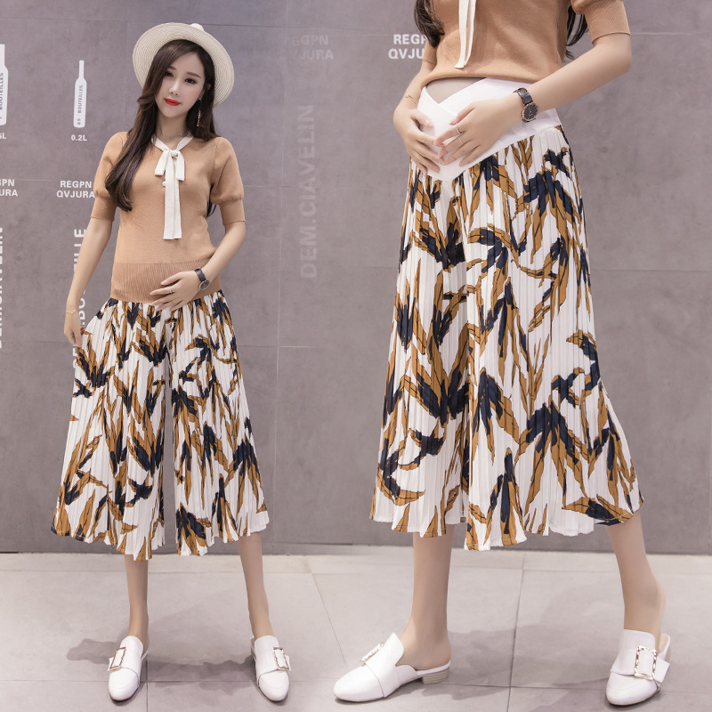 pregnancy pants summer clothes maternity pregnancy pants for pregnant women 2018 beautiful print mother and woman clothing maternity pants black hole skinny ripped jeans woman pregnancy pant summer fashion pregnant women clothing flares pants ayf k008