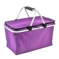 Large Size Insulated Oxford Cloth Lunch Bag Thermal Food Picnic Lunch Bags For Women Kids Men