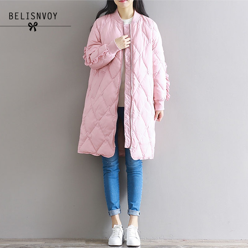 2017 Winter Jacket Women Long Parka Coat Outwear Overcoat Cotton Padded Warm Fashion Thicken Black Winter Parka Women Jackets new winter women lady thicken warm coat hood parka long jacket overcoat outwear