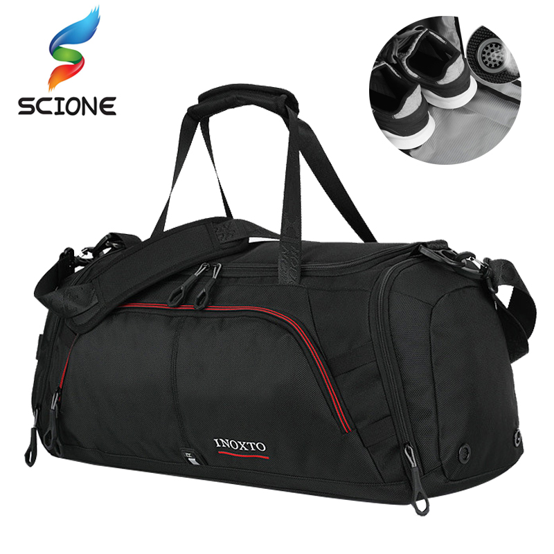 Hot Outdoor Mens Large Training Sports Bag Gym Bag with Shoes Pocket Duffel Tote Travel Shoulder Handbag Male Fitness BagHot Outdoor Mens Large Training Sports Bag Gym Bag with Shoes Pocket Duffel Tote Travel Shoulder Handbag Male Fitness Bag