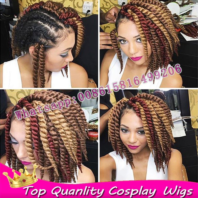 Bug 27 30 Mix Color 12 Havana Mambo Twist Crochet Hair Extensions