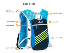 4 Color 5 L Cycling Running Water Bag Hydration Vest Backpack Nylon in 43x24cm for Outdoor Rafting Hiking Camping Equipment