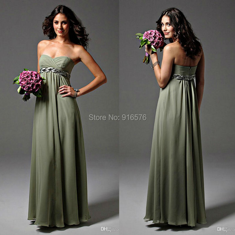 Popular Sage Green Bridesmaid Dresses-Buy Cheap Sage Green ...