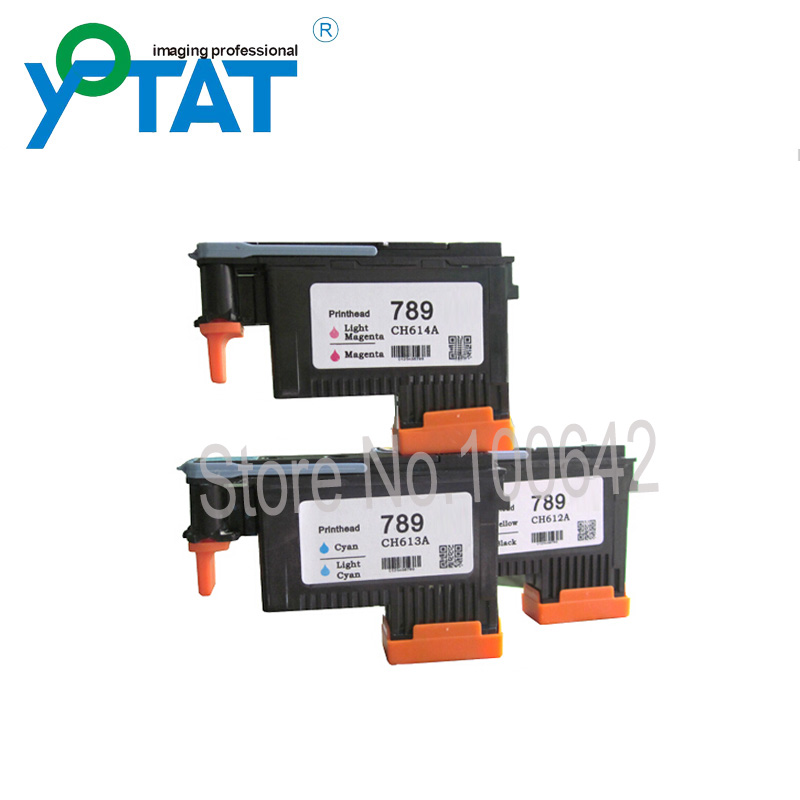 YOTAT 789 printhead Original Printer head for HP789 for hp Designjet L25500 printers, Scitex LX600 Series, Scitex LX800 Series 1x 789 printhead yellow black for hp 789 l25500 printer head ch612a
