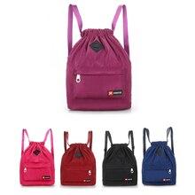Large Capacity Waterproof Sports Bag Women Men Bundle Mouth Sport