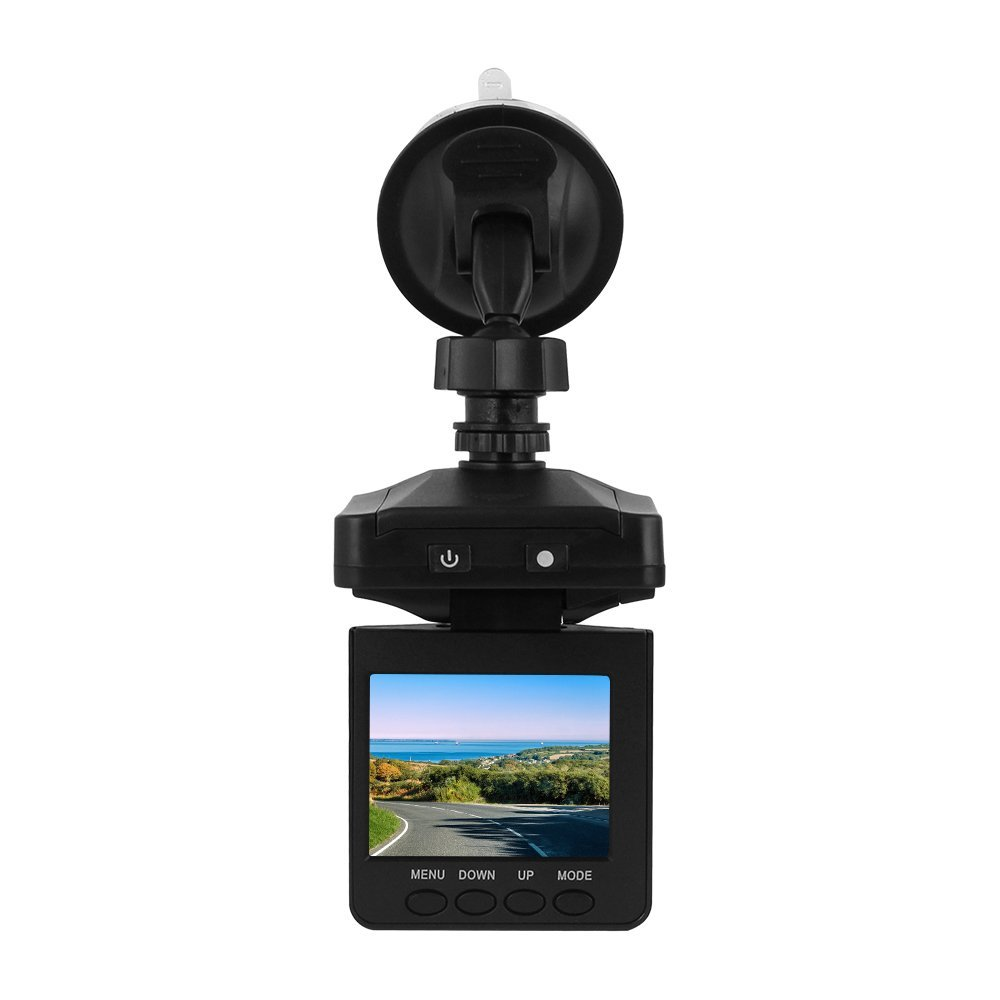 Hot selling 100 brand HD Car DVR 6 leds Night vision 270 Degree Rotate Vehicle Car Camera video Recorder detector dash cam in DVR Dash Camera from Automobiles Motorcycles