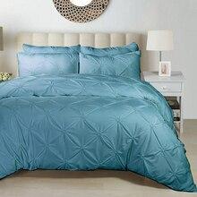 Домашний текстиль, чистый цвет, простые постельные принадлежности, качественные, очень мягкие, для взрослых, постельное белье, синий, серый, черный, Комплект постельного белья для мужчин и девочек