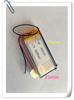 10 pcs 3.7V 500mAh 602535 Li Po Polymer li ion Rechargeable Battery For Mp3 MP4 GPS DVD Tablet PC bluetooth E books