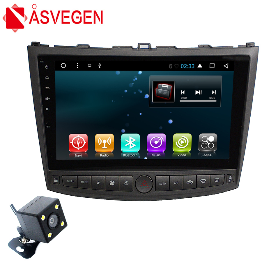 Asvegen Car DVD Radio Multimedia Player For Lexus is250 IS200 IS300 Android 7.1 10.2 inch GPS Navigation with Bluetooth 2GB+32GB