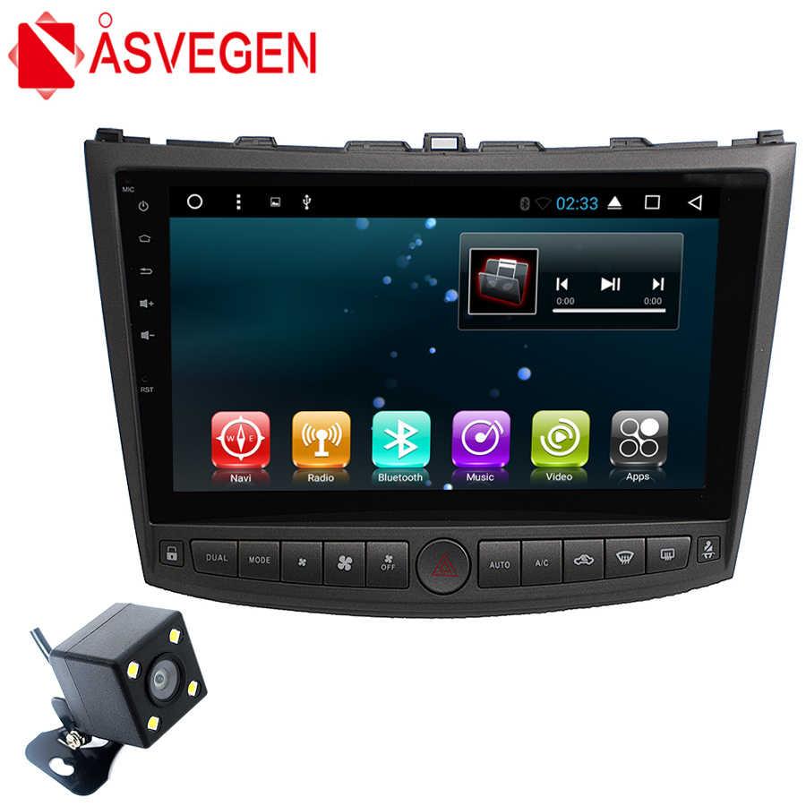 medium resolution of asvegen car dvd radio multimedia player for lexus is250 is200 is300 android 7 1 10 2 inch gps