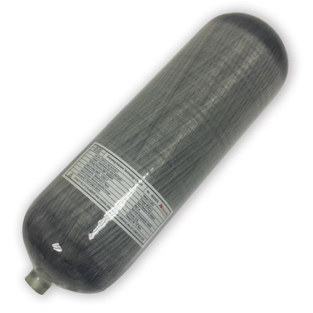AC1090 4500 psi in fibra di carbonio cilindro paintball pistola ad aria in 9L per il riempimento paintball serbatoio o la caccia pcp stazione grande venditaAC1090 4500 psi in fibra di carbonio cilindro paintball pistola ad aria in 9L per il riempimento paintball serbatoio o la caccia pcp stazione grande vendita