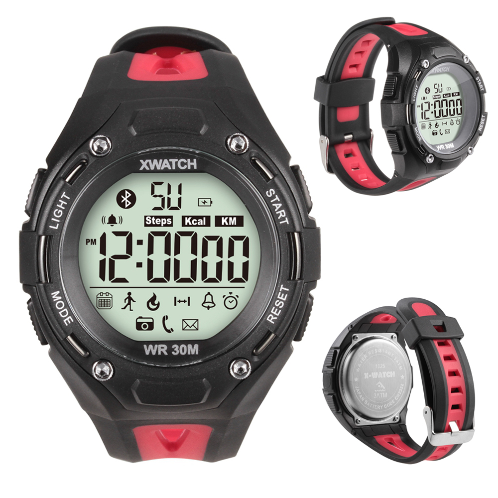 Smart Watch Bluetooth Wristwatch Xwatch Waterproof Stopwatch Intelligent Clock Remote Camera For Outdoor Sport Pedometer PK U8