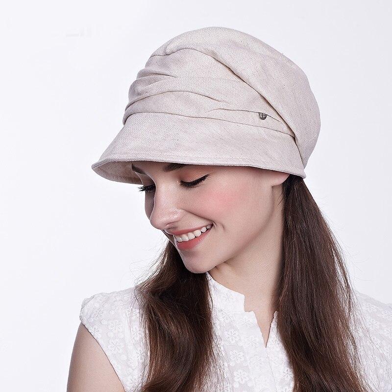 a674dd94d1148 Sedancasesa moda algodón plegable Beach Sun sombreros para las mujeres  gorras moda diseño mujeres verano sol sombrero de ala ancha sombrero  viseras Cap