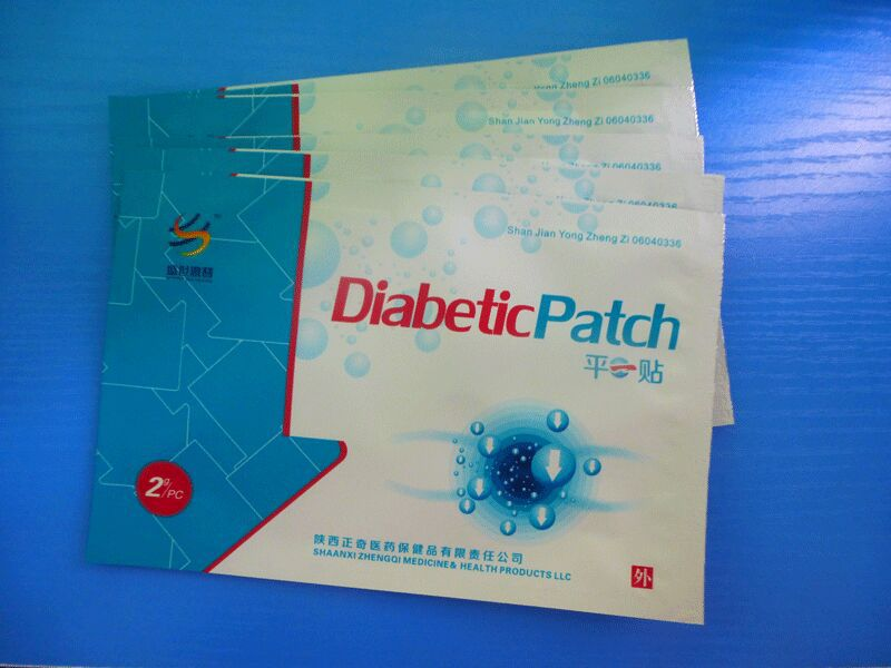 50PCS/set Natural herbal Diabetic Patch For Lowering Blood Sugar Health care product