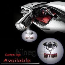 Superhero Avengers Batman LED Auto Car Vehicle Open Door Courtesy Logo Ghost Shadow Light #1173