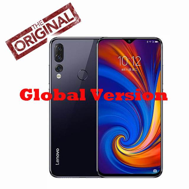 Original New Global Version Lenovo Z5S Cell Phone Octa-core AI Three Cameras 4G 64G Snapdragon 710 6.3inch 2340x1080P Pre-sale