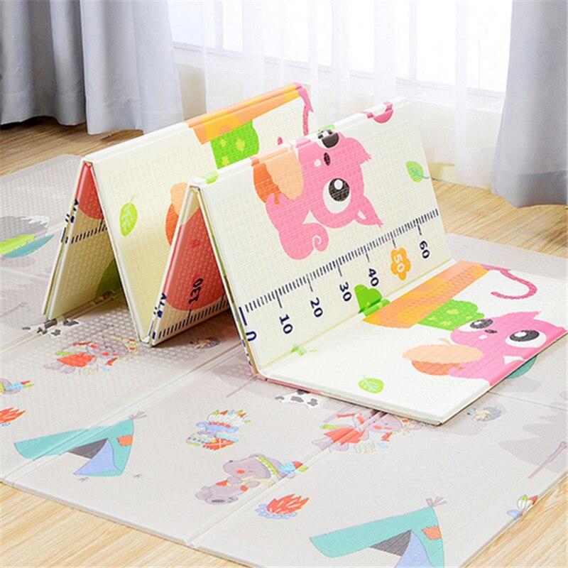 Tapis de jeu épaissi pour bébé tapis pour enfants tapis de développement XPE bébé ramper Puzzles tapis pour enfants tapis de jeu Speelkleed 200*150 cm