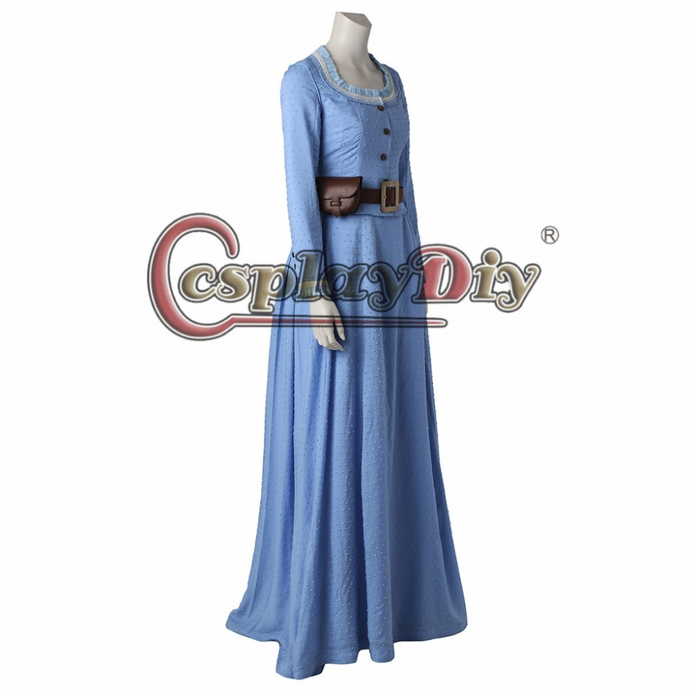 1cf37d159a Cosplaydiy New Arrival Westworld Dolores Abernathy Cosplay Dress Women  Halloween Medival Costume Custom Made J5 -in Movie   TV costumes from  Novelty ...
