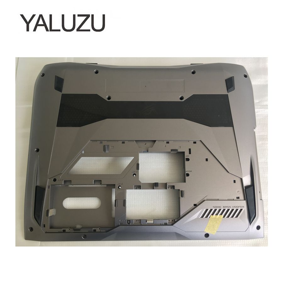 YALUZU NEW laptop Bottom Base Cover Bottom Case For ASUS G752 G752V lower cover BOTTOM CASE PN: 13N1-08A0101 13NB0D71AP0101 grey new case cover for lenovo g500s g505s laptop bottom case base cover ap0yb000h00